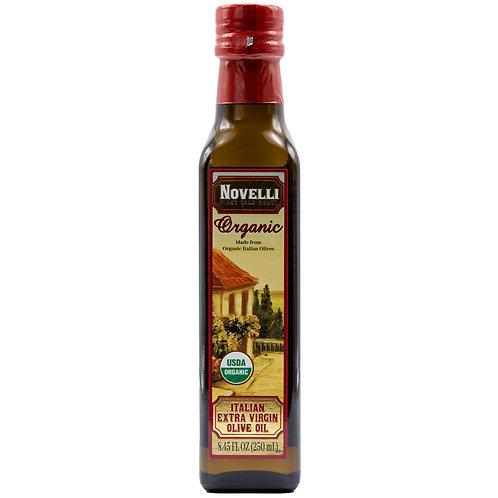 Novelli 100% Italian Organic Extra Virgin Olive Oil 8.45 fl oz