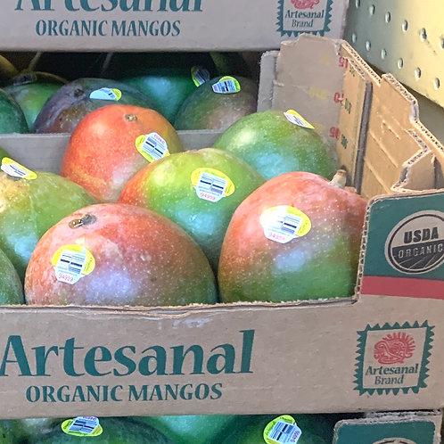 Organic Kent Mangoes 8ct