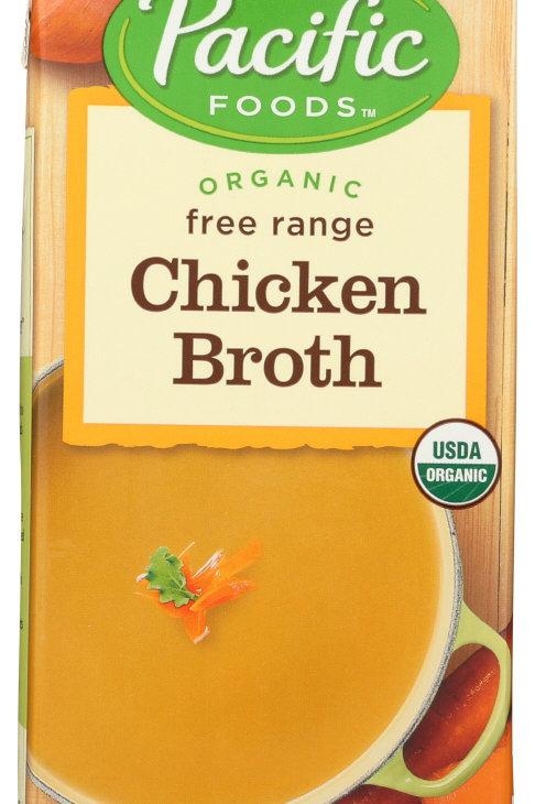 Pacific Foods Organic Chicken Broth 32z