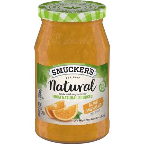 Smucker's Natural Orange Marmalade Fruit Spread, 12.75-Ounce Jar