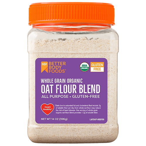 BetterBody Foods Organic Oat Flour Blend 14oz