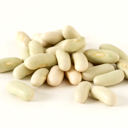 Dried flageolet beans, bulk 1 lb.