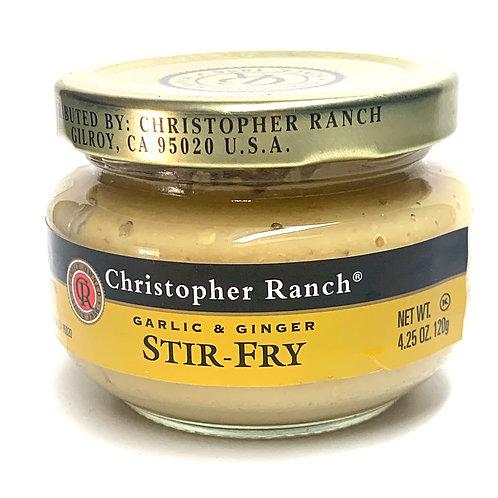 Christopher Ranch ginger & garlic stir-fry 4.25z