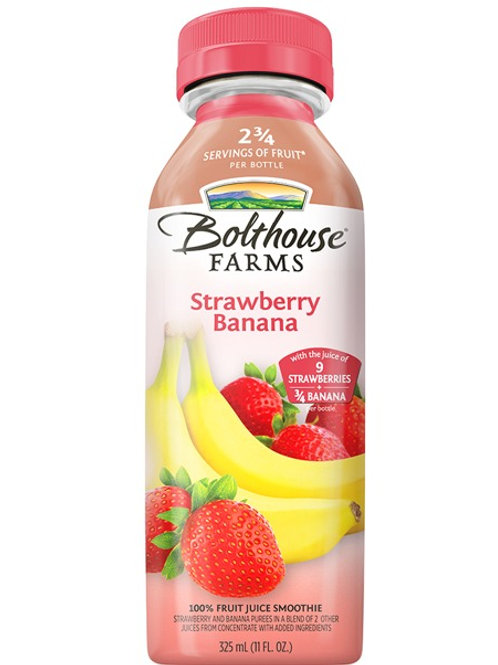 Bolthouse Farms Fruit Juice Smoothie, Strawberry Banana, 11 oz