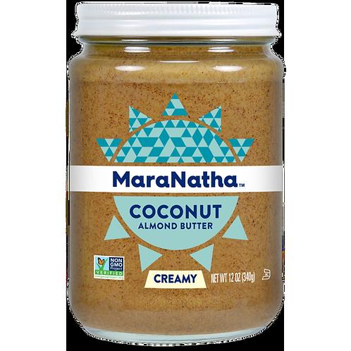 Maranatha Creamy No-Stir Coconut Almond Butter, 12 Oz