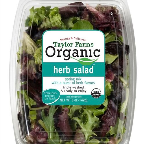 Organic herb salad 5z