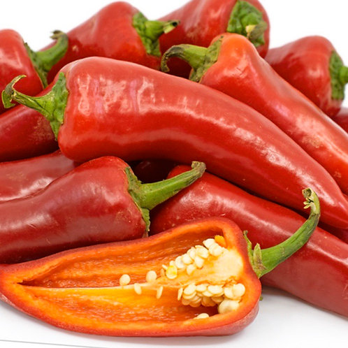Red Fresno Chili Peppers 1/4 lb.