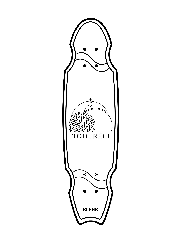 Longboard KLEAR Montreal serie