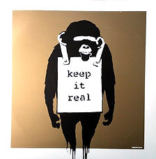 Banksy Vinyl Keep It Real