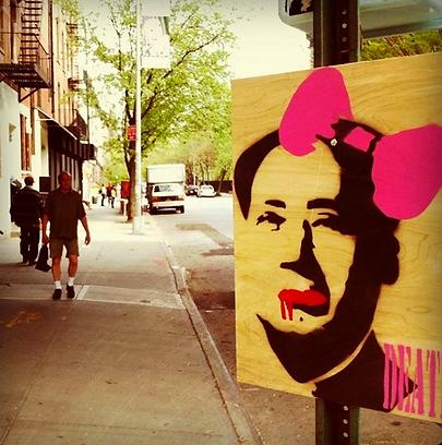 Death NYC, street art, graffiti, art urbain, galerie en ligne
