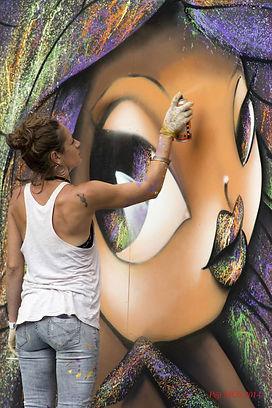 Vinie graffiti, street art, graffiti, art urbain, galerie en ligne