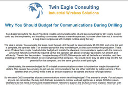Why You Should Budget for Communications During Drilling