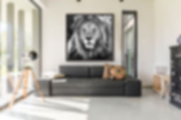 Lion Framed.jpg