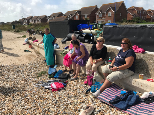 August gathering - us and the porpoise