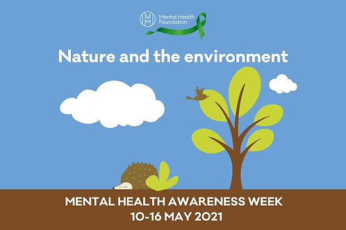 Free: Mental Health Awareness Week Shinrin-yoku Walk Weds 12th May 21