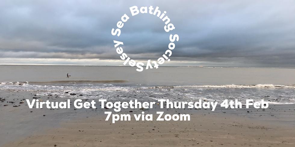 Selsey Sea Bathing Virtual Get Together via Zoom
