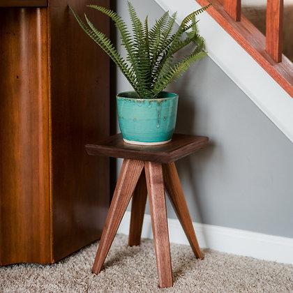 Handmade Walnut Planter Stand