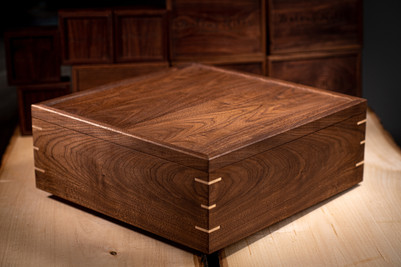Handmade Walnut Photo Box