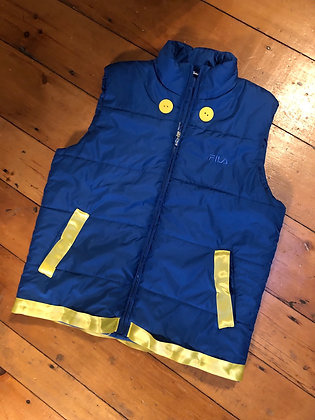 Vintage FILA Full Zip Puffer Vest