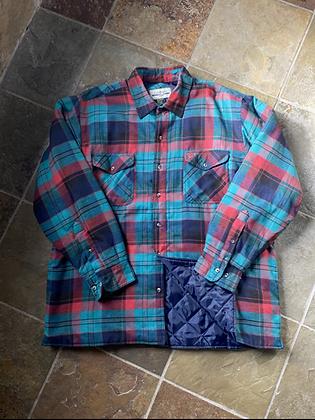 Vintage Lined Flannel Shirt