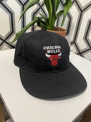 Vintage Logo 7 Chicago Bulls Strapback
