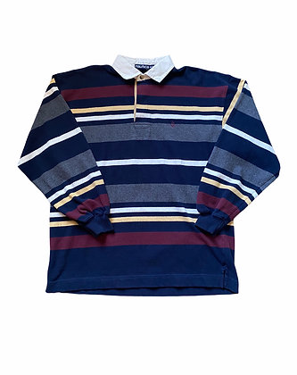 Vintage Nautica Striped Rugby Shirt