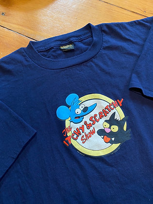 Vintage The Itchy and Scratch Promo T-Shirt