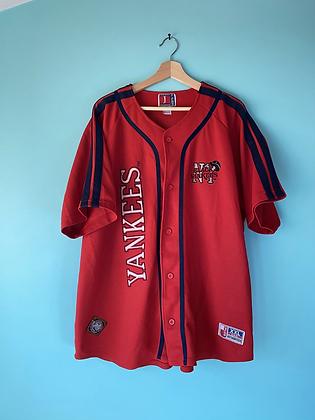 Vintage Black Yankees Negro League Baseball Jersey