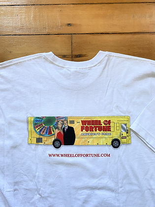Vintage New Old Stock Wheel of Fortune Promo T-Shirt