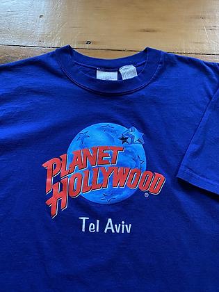 Vintage 1991 Planet Hollywood Tel Aviv T-Shirt