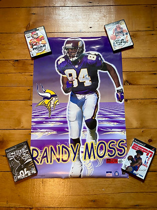 Vintage 1999 Randy Moss Poster