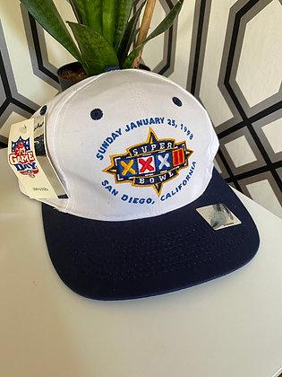 Vintage New 1998 Logo 7 Super Bowl Snapback