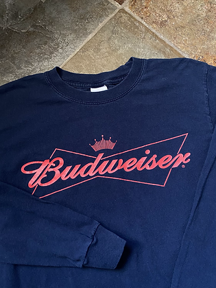 Vintage Early 2000's Budweiser Long Sleeve T-Shirt