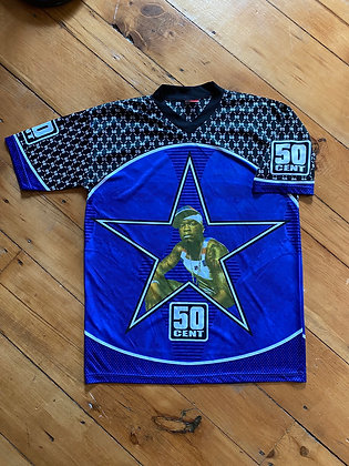 Vintage Bootleg 50 Cent Jersey