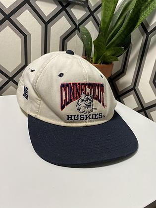Vintage Made in USA UConn Huskies Snapback
