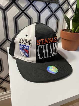 Vintage New Old Stock Stater 1994 New York Rangers Stanley Cup Snapback