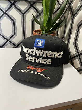 Vintage Dale Earnhardt Je Monte Carlo Snapback Hat