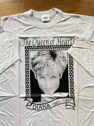 Vintage New Old Stock Princess Diana Memorial T-Shirt