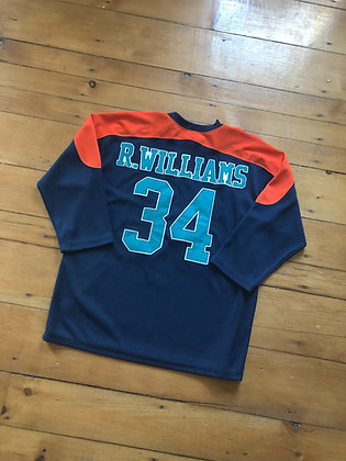 Ricky Williams Long Sleeve Jersey