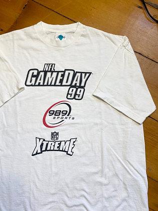 Vintage NFL Gameday 99 Game T-Shirt