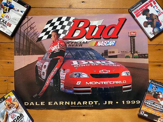 Vintage 1998 Dale Earnhardt Jr Poster