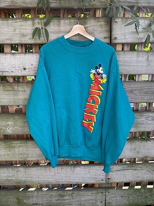Vintage 90's Disney Mickey Mouse Crewneck