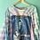 Thumbnail: Bob Dylan Tie Dye Concert Long Sleeve Tee