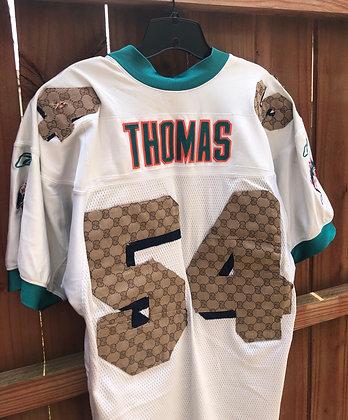 Custom Joe Thomas Dolphins Jersey