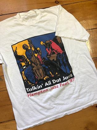 Vintage 1997 Hampton Jazz Festival T-Shirt