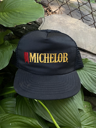 Vintage Michelob Beer Promo Trucker Snapback
