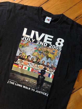 2005 Live Aid Concert T-Shirt