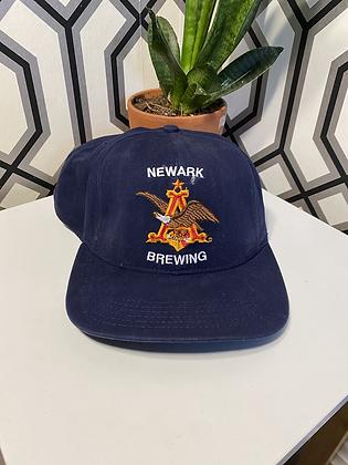 Vintage Anheuser Busch Made in USA Newark Brewing Snapback