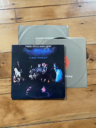 Vintage Crosby, Stills, Nash and Young '4 Way Street' Vinyl