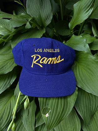 Vintage Sports Specialties Los Angeles Rams Snapback Hat